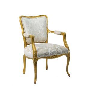 Beige Victorian Chair