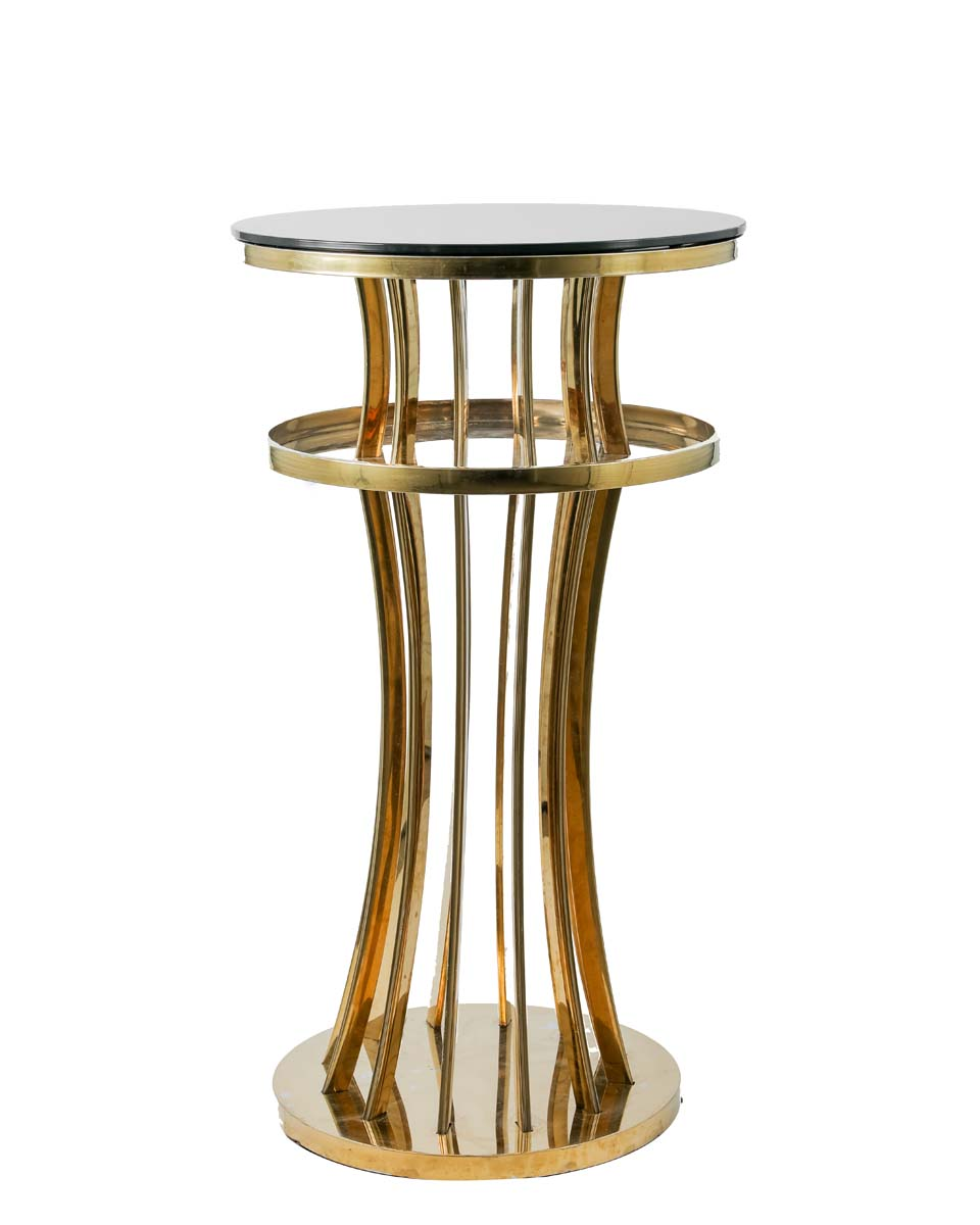 Cartier Bar table – Black and Gold