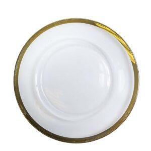 Gold Rim Plate