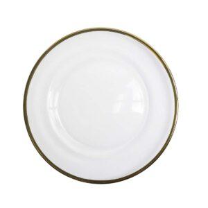 Gold Rim Side Plate