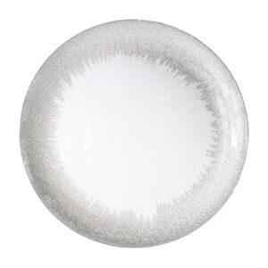 Silver Splash Plate
