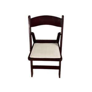White and Mahogany Wimbledon Chair